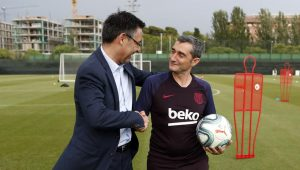 "Bartomeu: ""Valverde is the ideal manager for this chapter in Barcelona"""