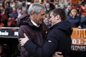 Quique Setién looks ahead to 'tense' Bilbao clash
