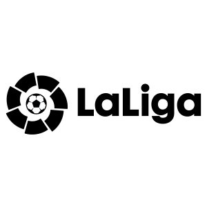 LaLiga's logo, with a white background / LALIGA