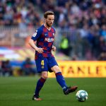 Ivan Rakitic, during a fixture between Barcelona and Eibar in LaLiga / ALEX CAPARROS/GETTY IMAGES EUROPE